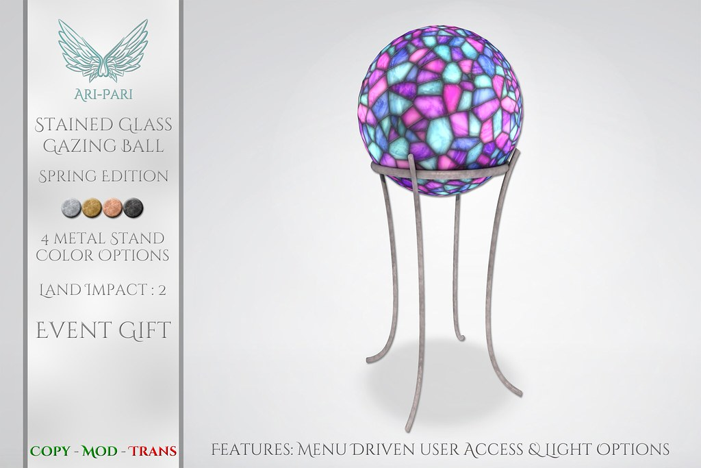 [Ari-Pari] Gazing Ball – Spring Edition