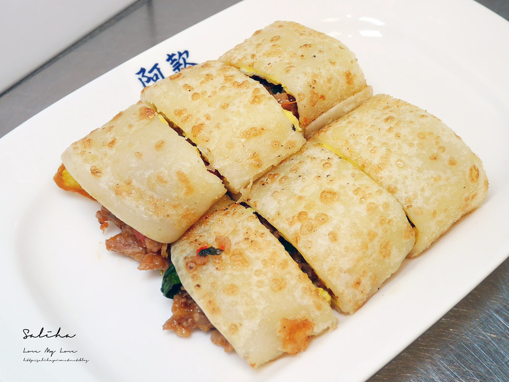 台北好吃早餐必吃早餐推薦阿款早點拌麵午餐美食小吃松江南京站平價美食 (3)