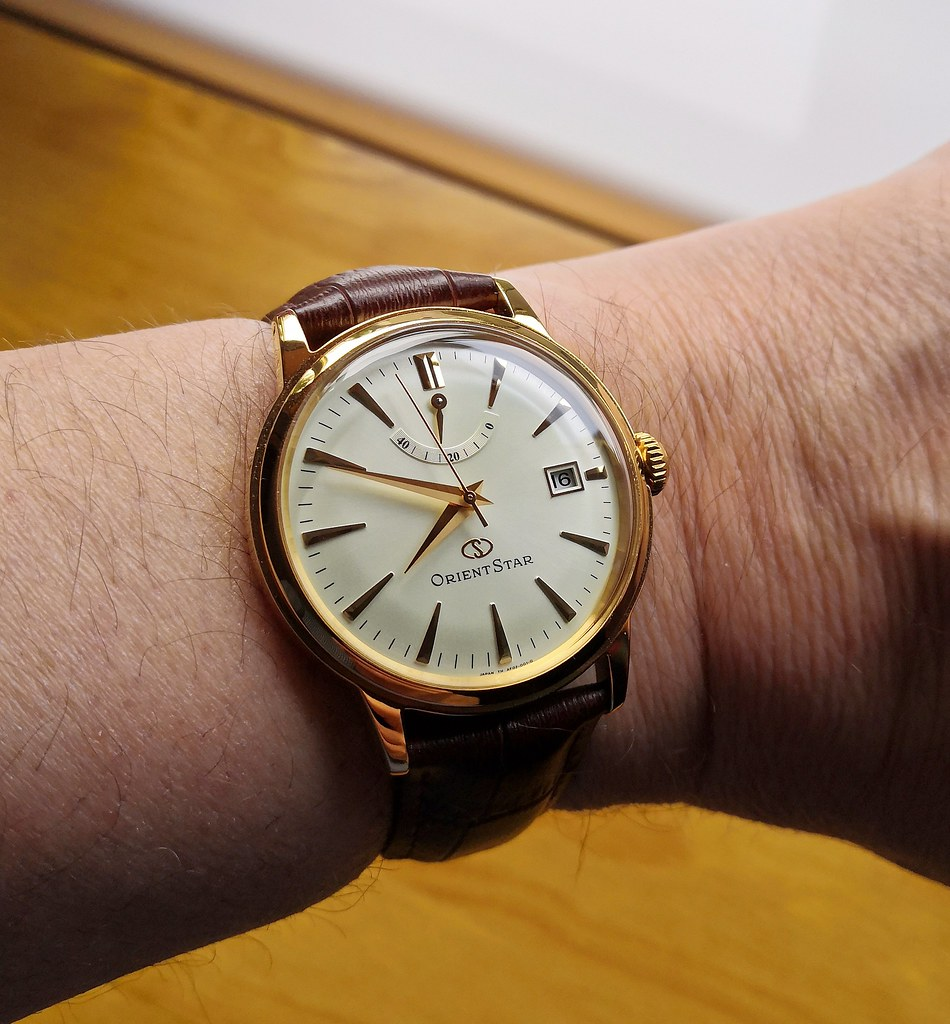 Orient Star 'Classic Power Reserve' SAF02001S0 (Cal 40N52)