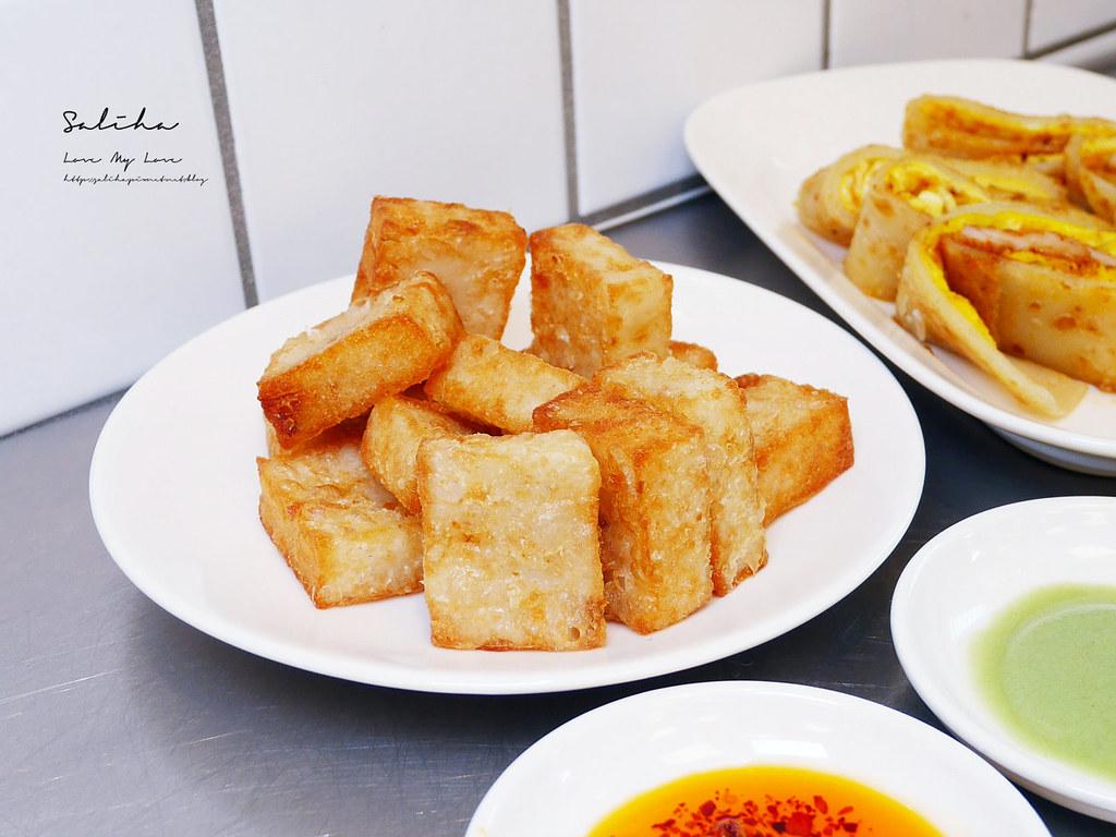 台北好吃蘿蔔糕阿款早點拌麵中山區南京東路好吃美食中式早餐推薦人氣午餐小吃
