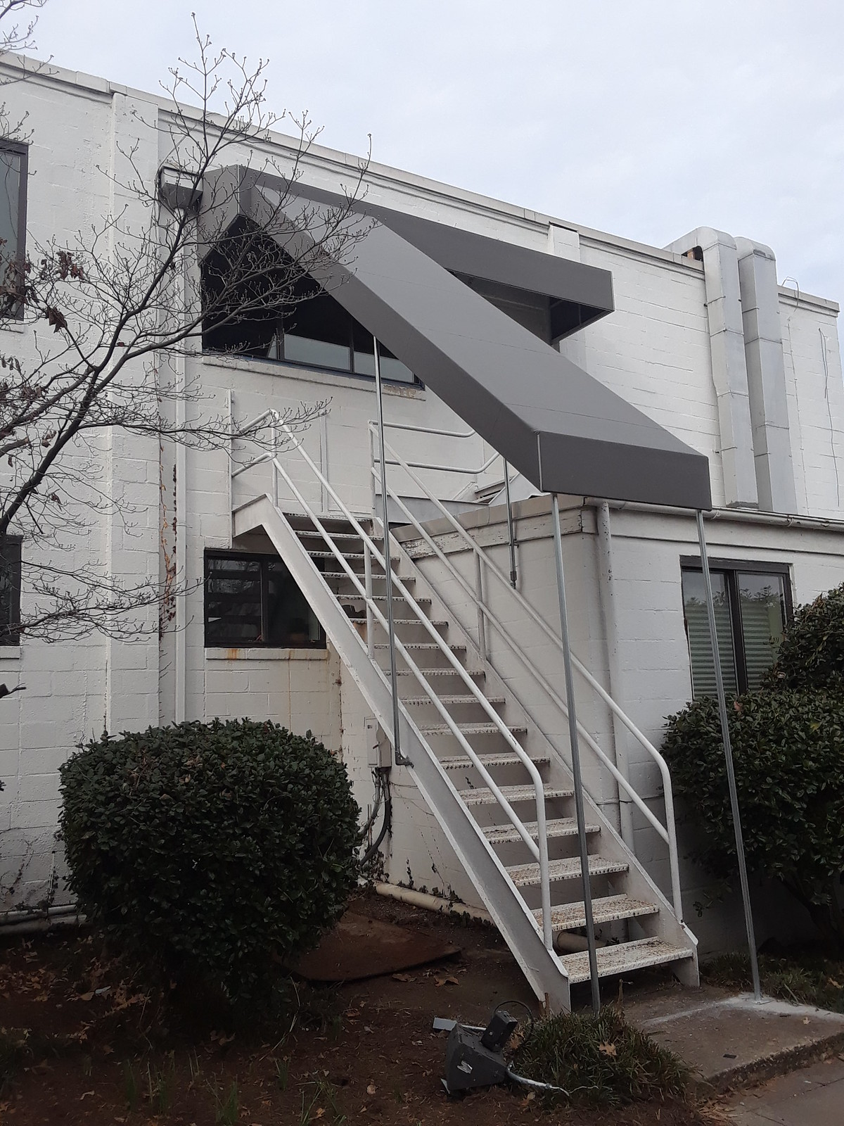 Stairway Commercial Awning
