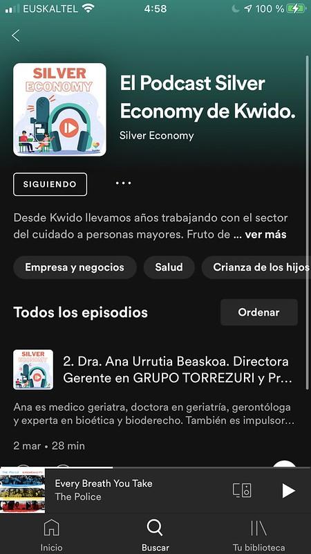 Podcast Silver Economy de Kwido