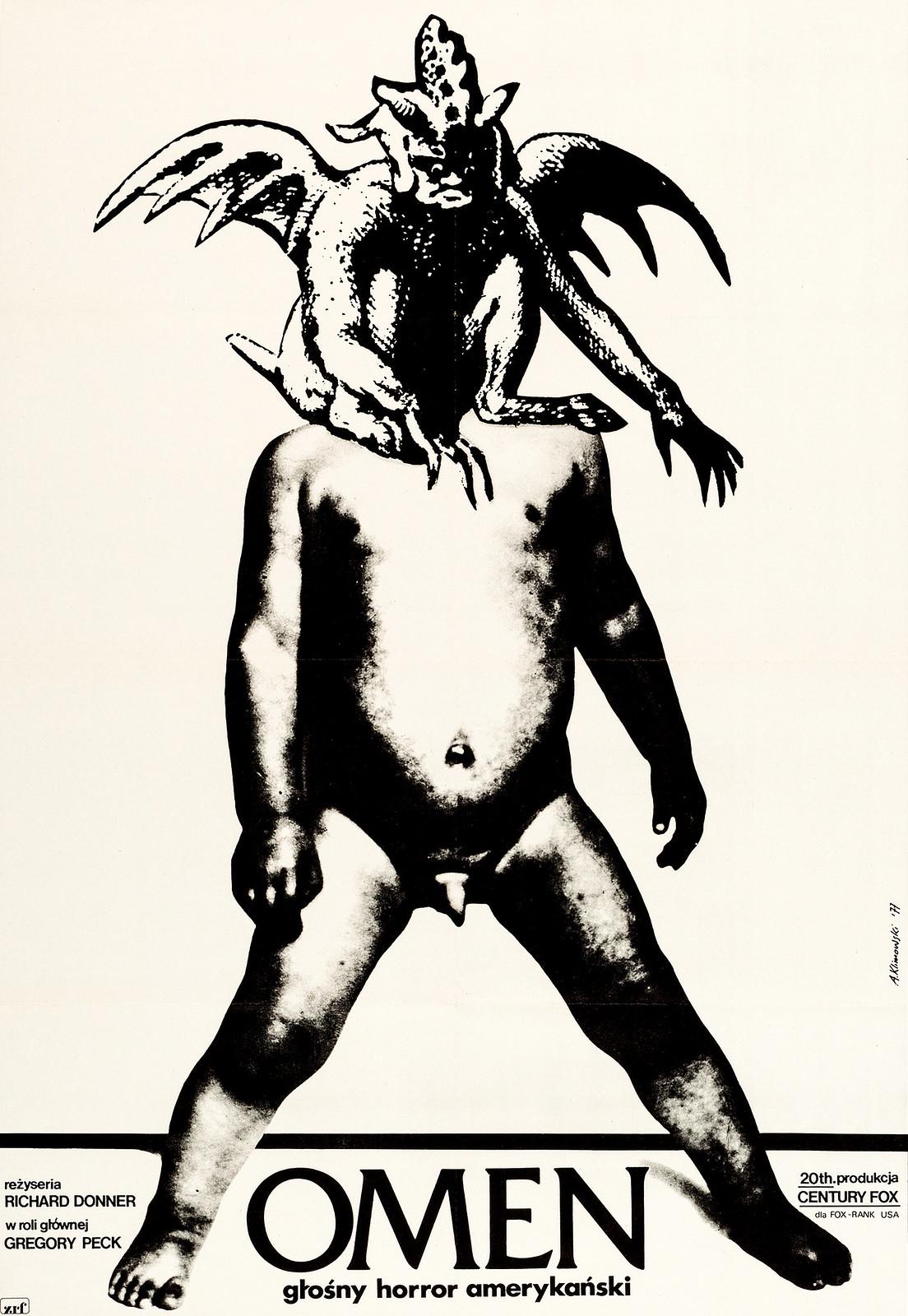 Andrzej Klimowski - The Omen, 1977