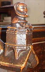 cowled preacher in a pulpit (15th Century)