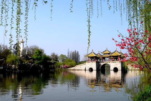 扬州五亭桥 Yangzhou Wuting Bridge