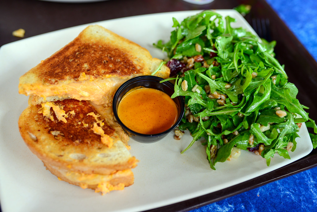 ABC Commissary grilled cheese DHS