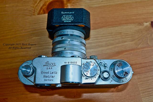 Leica IIIf Red Dial