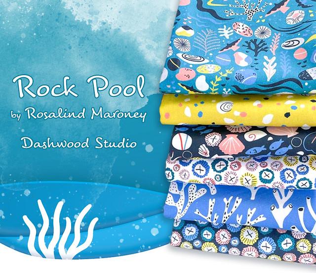 Dashwood Studio Rock Pool Collection by Rosalind Maroney