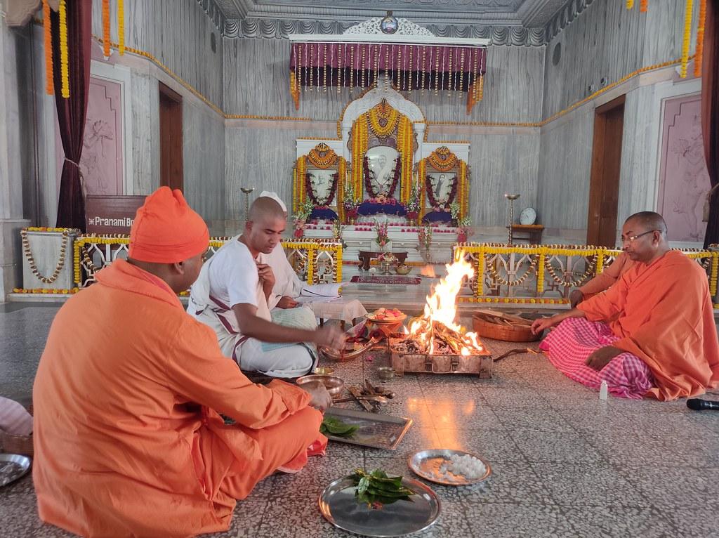 Thakur's Tithi Puja (139)