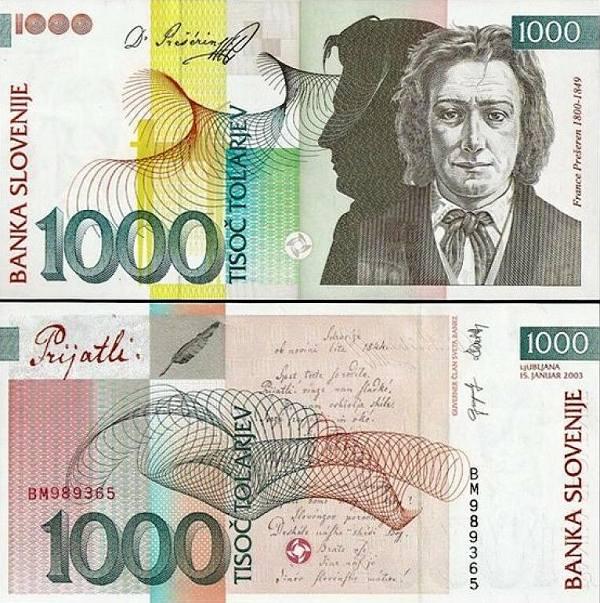 1000 Toliarov Slovinsko 2003, P32a