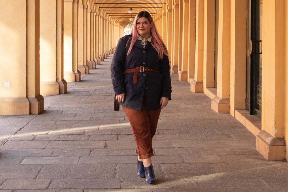 Outfit Meteore fashion mezza stagione curvy plus size (4)