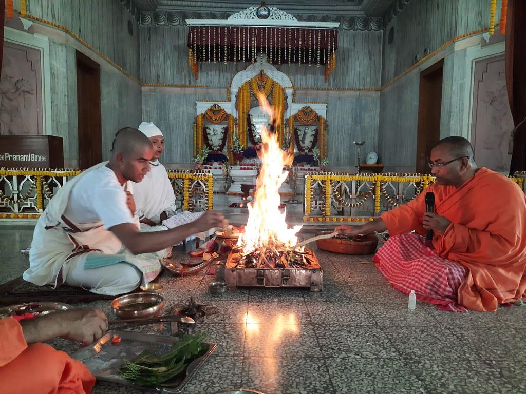 Thakur's Tithi Puja (118)