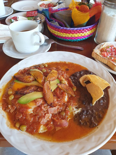 Huevos motuleños (Mexico)
