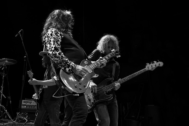 Warner E. Hodges : guitarra y Micke Nilsson : bajo - Dan Baird and Homemade Sin