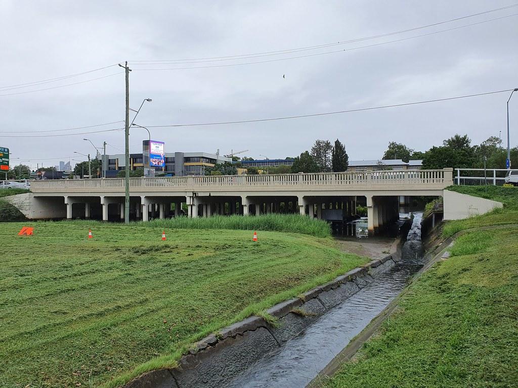 Burnett's Swamp Bridge - Logan Rd