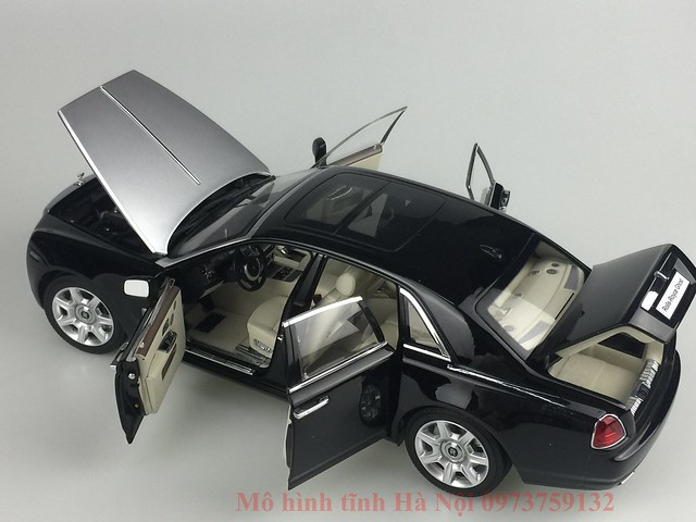 Mo hinh o to Rolls Royce Ghost 1 18 Kyosho (35)