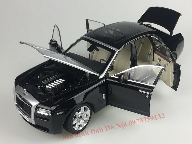 Mo hinh o to Rolls Royce Ghost 1 18 Kyosho (33)