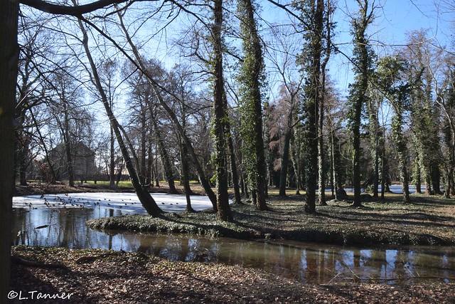 Schlosspark Ostrau