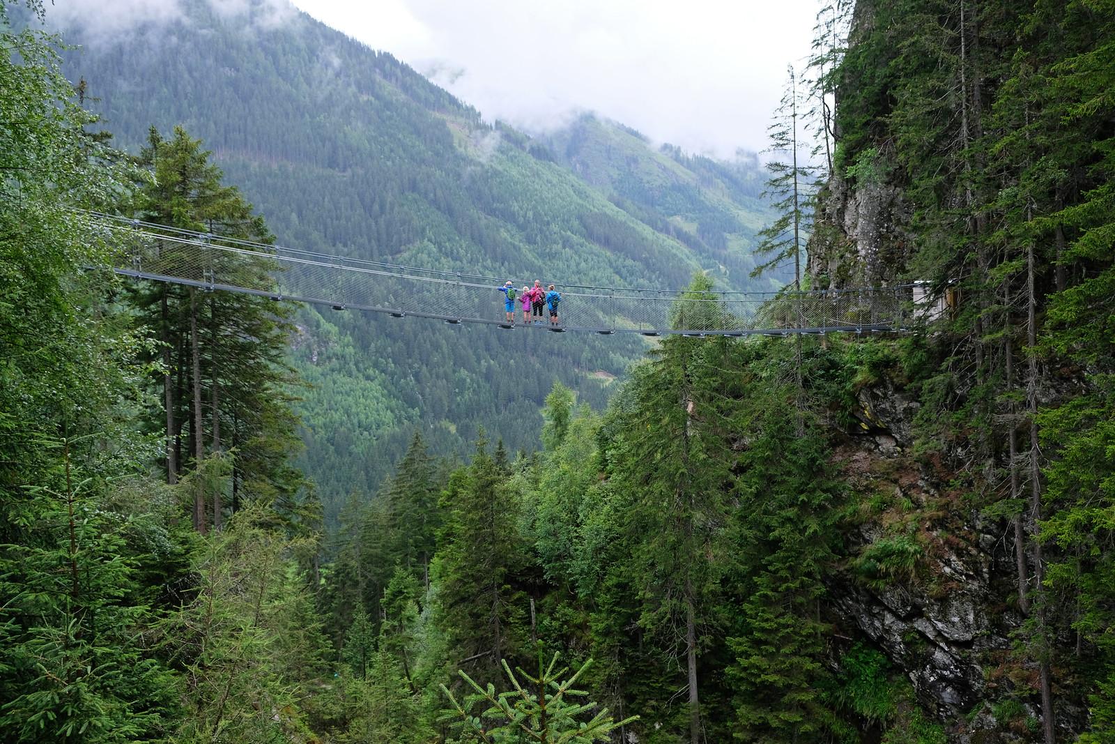 Alpinsteig durch die Höll, Austria