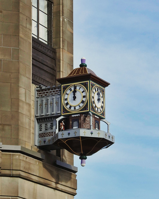 Binns Clock Restored