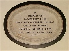 Margery and Sydney Cox