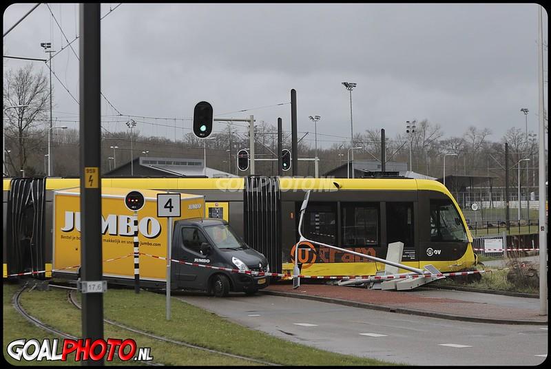 16-03-2021 Tram ontspoorde tram in Utrecht