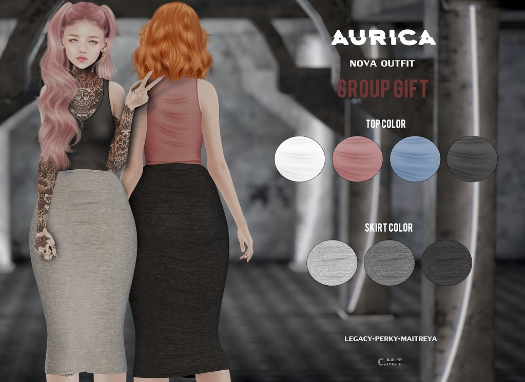 #AURICA Nova Outfit Group Gift!