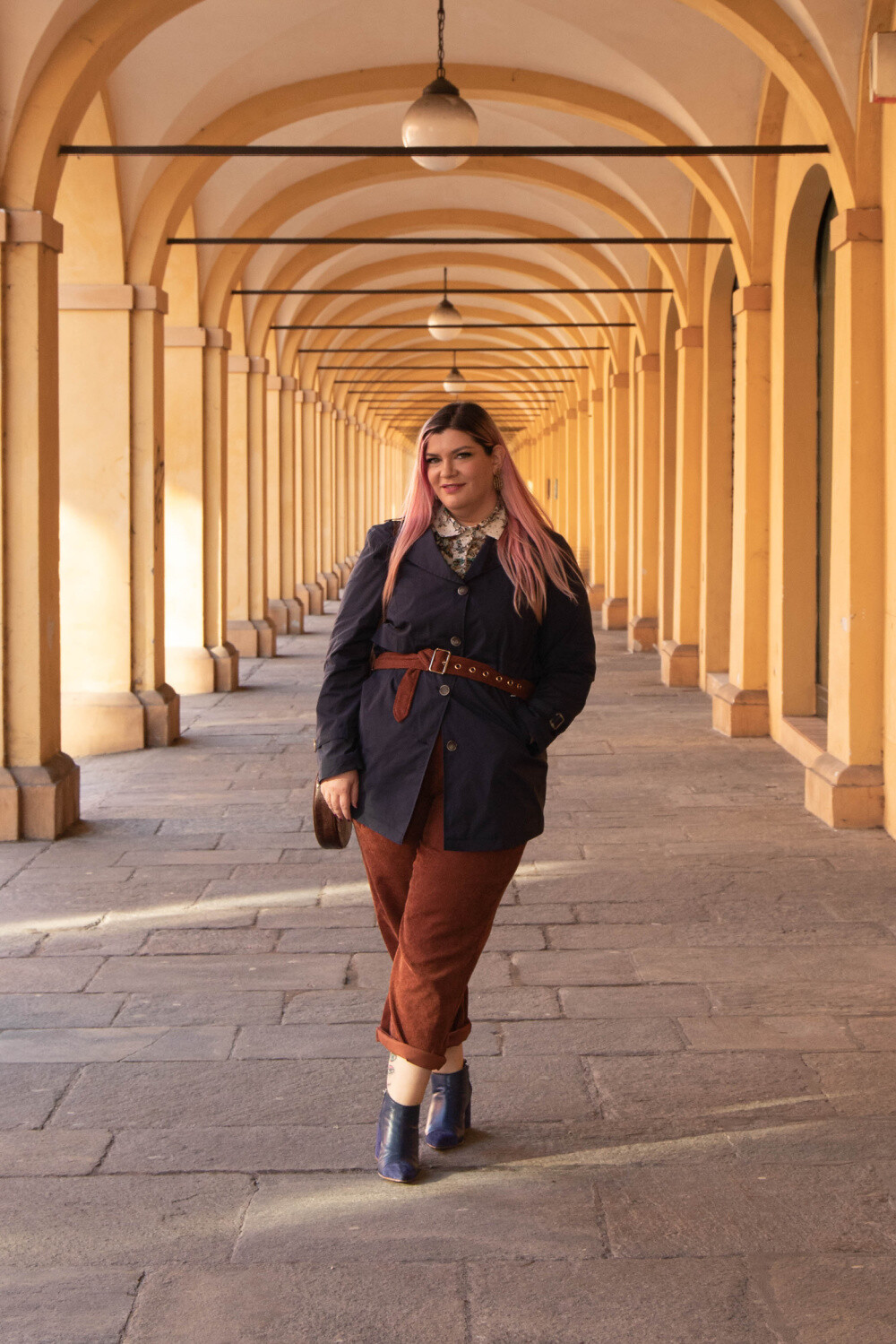 Outfit Meteore fashion mezza stagione curvy plus size (5)