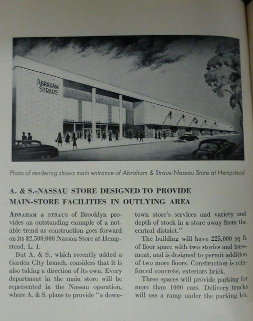 Hempstead, NY Abraham & Straus Department Store
