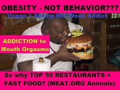 OBESITY Behavior Related Food Addiction Go Vegan Save Animals & Yourself