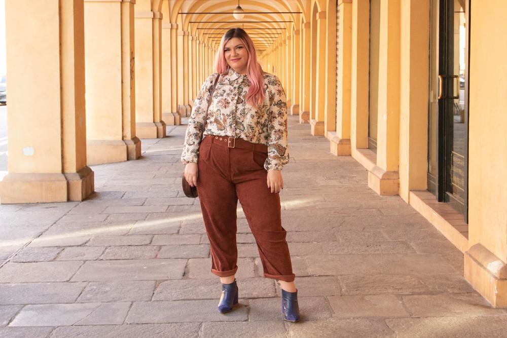 Outfit Meteore fashion mezza stagione curvy plus size (12)