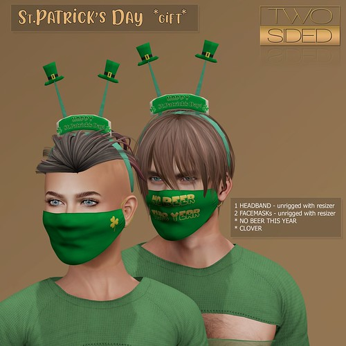 St.Patricks Day gift by TwoSided