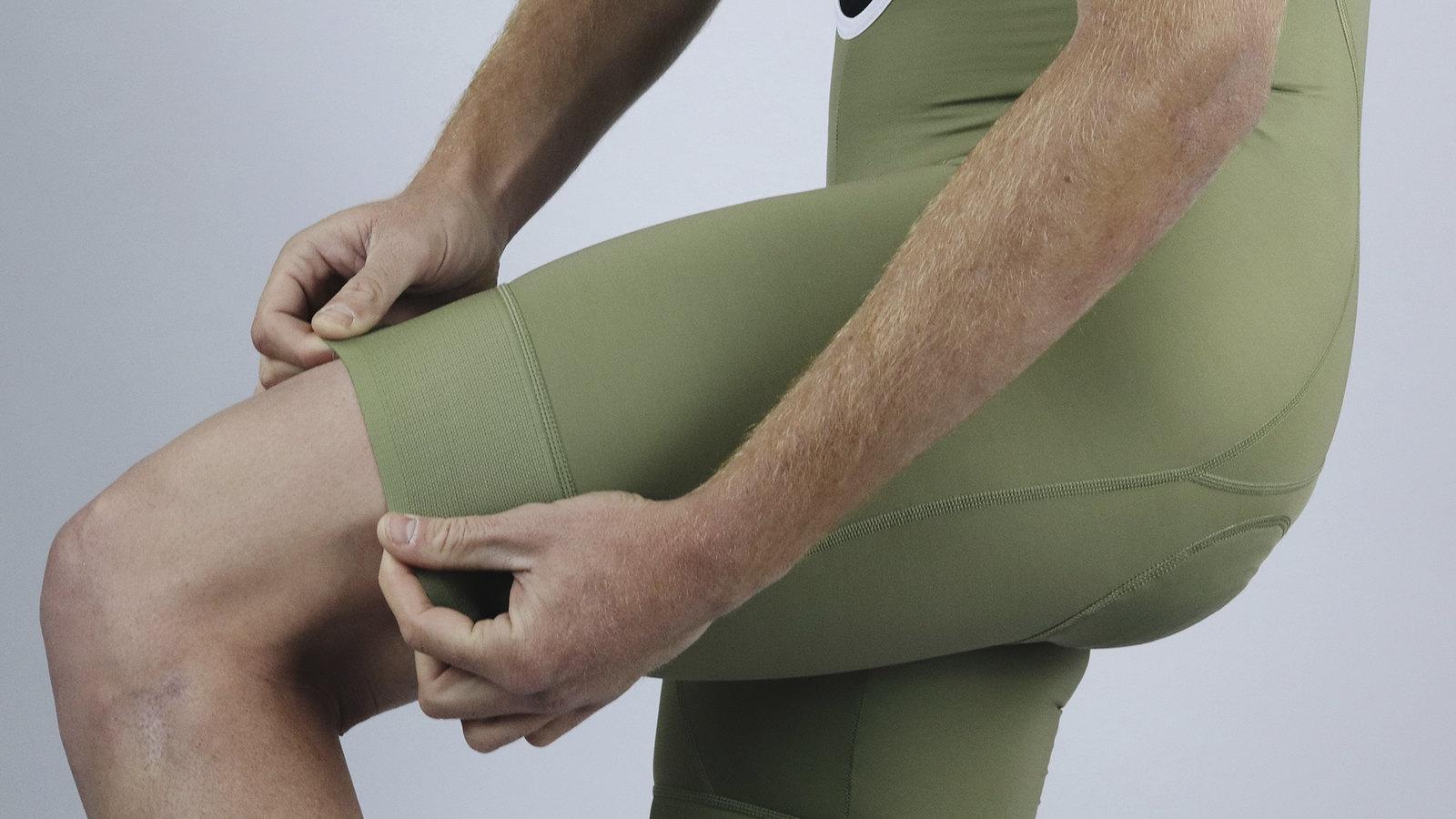 Men's Endurance Kaki Bib Short