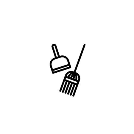 Cleaning symbols.
