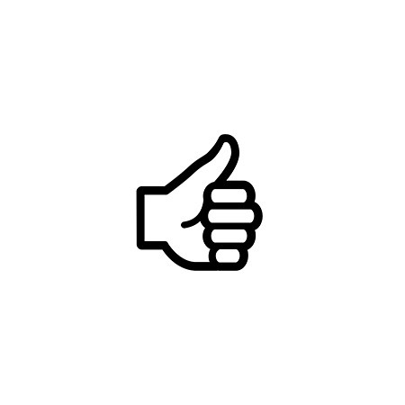 Support icon - thumbs up by Chris Brunskill from the Noun Project.