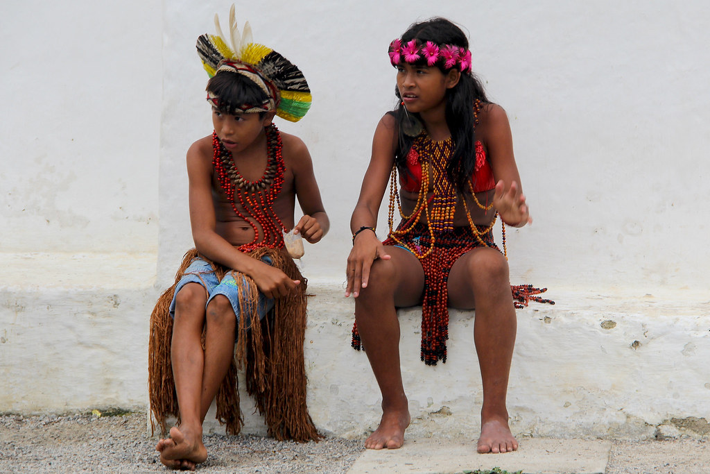 Índios Pataxó, Trancoso, Bahia, 2016