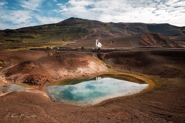 Krafla Geothermal Power Station (Iceland)