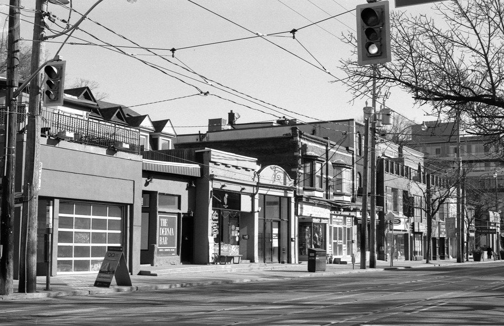 Really Empty on Queen St. East