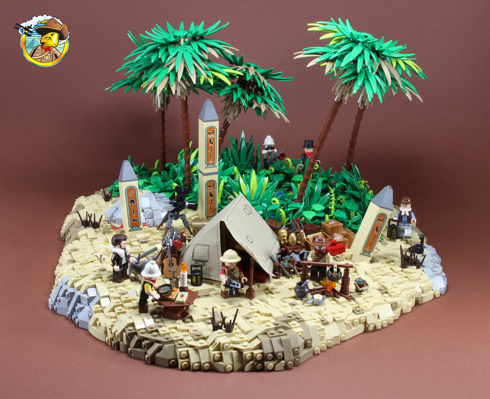Adventurers - Oasis campsite