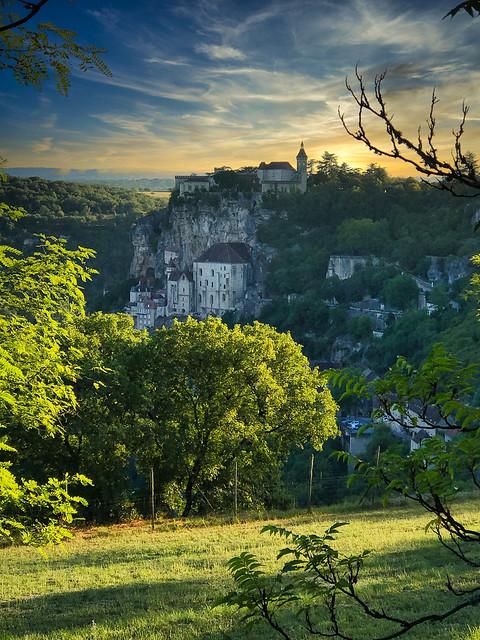 Romantic Rock - Rocamadour, France