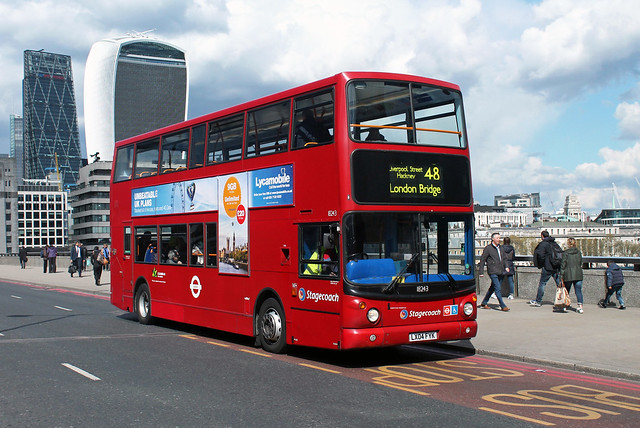 Route 48, Stagecoach London, 18243, LX04FYK