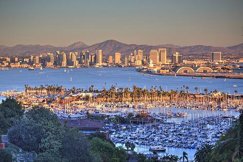 sandiego california herbst usa automne autumn autunmno evening moonrise otoño sunset twilight