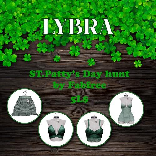 Lybra - FabFree St. Patty's Day Hunt Key