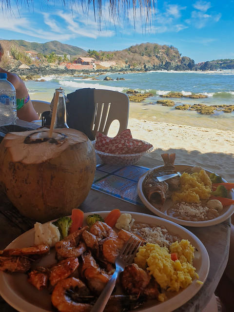 Seafood (Ixtapa - Mexico)
