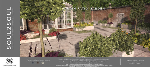 Soul2Soul. Jardin Patio Garden  at The Liaison Collaborative (TLC) event | by Minnie Atlass -Soul2SoulSL