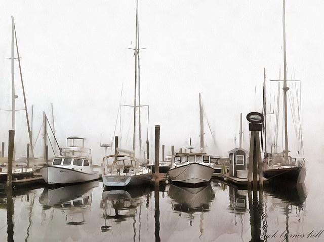 Early Morning on the Harbor