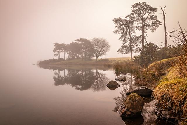 A Foggy Morning at Knapps Loch