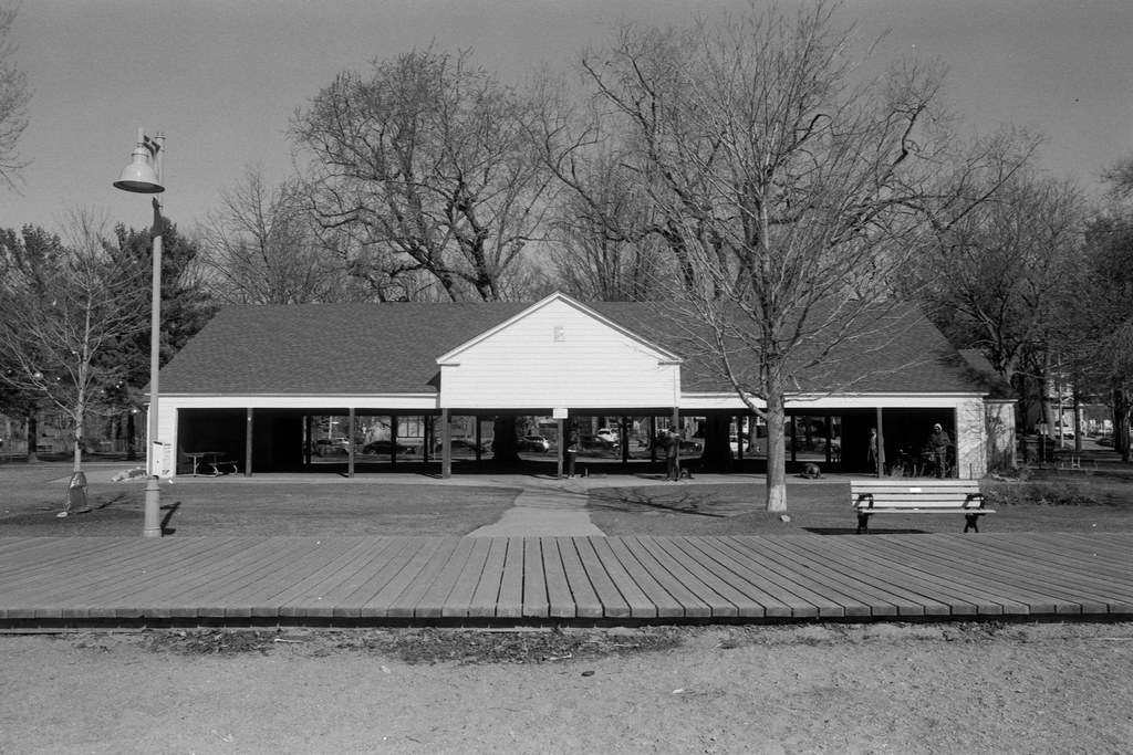Leuty Ave Shelter and Former Boathouse