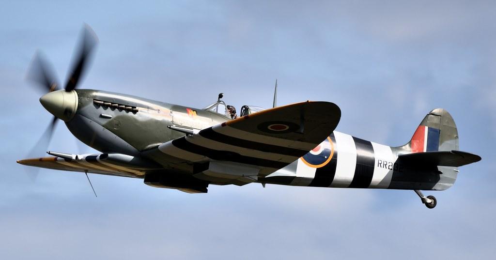 RAF Supermarine Spitfire HF Mk-IX  RR232 G-BRSF City of Exeter