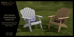 SR Curved Adirondack Chair @ TLC